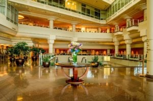 hotel lobby pan pacific vancouver